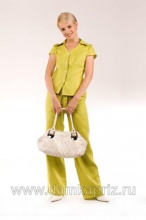 """Блуза """"Оливия"""" - интернет магазин одежды из льна Дамский Каприз"""