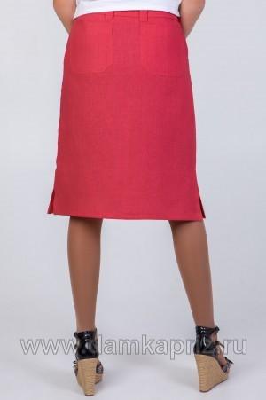 """Юбка """"Катерина"""" - интернет магазин одежды из льна Дамский Каприз"""