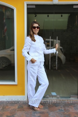 """Жакет """"Sandra"""" - интернет магазин одежды из льна Дамский Каприз"""