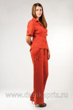 """Блуза """"Style"""" - интернет магазин одежды из льна Дамский Каприз"""