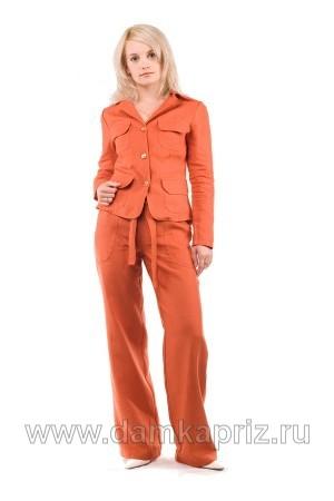 """Жакет """"Мальта"""" - интернет магазин одежды из льна Дамский Каприз"""