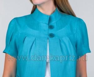 """Блуза """"Венеция"""" - интернет магазин одежды из льна Дамский Каприз"""
