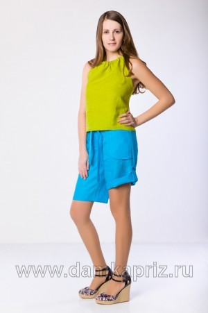 "Бермуды ""Колумбия"" - интернет магазин одежды из льна Дамский Каприз"