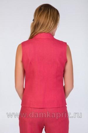 """Жилет """"Саванна"""" - интернет магазин одежды из льна Дамский Каприз"""