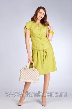 """Блуза """"Роза"""" - интернет магазин одежды из льна Дамский Каприз"""