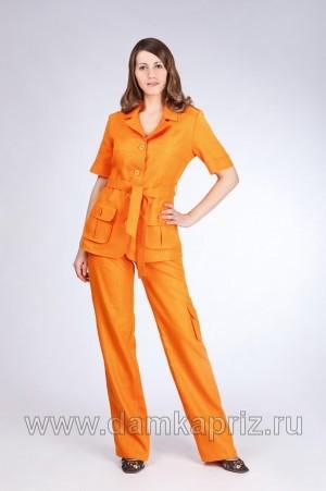 """Жакет """"Кения"""" - интернет магазин одежды из льна Дамский Каприз"""