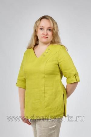 """Туника """"Japan"""" - интернет магазин одежды из льна Дамский Каприз"""