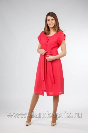 """Платье """"Изабелла"""" - интернет магазин одежды из льна Дамский Каприз"""