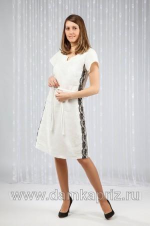 """Платье """"Карина"""" - интернет магазин одежды из льна Дамский Каприз"""