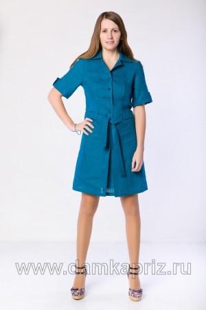 """Платье """"Палермо"""" - интернет магазин одежды из льна Дамский Каприз"""