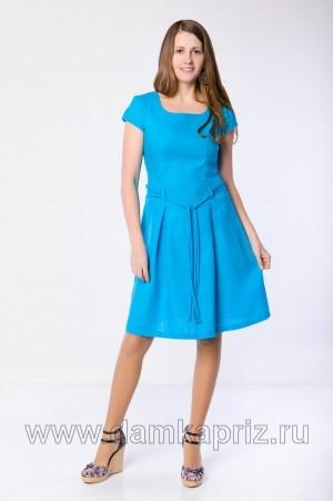 """Платье """"Милана"""" - интернет магазин одежды из льна Дамский Каприз"""