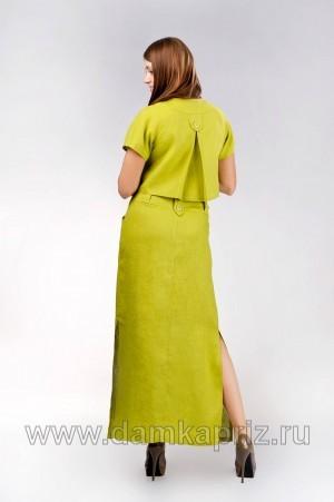 """Блуза """"Карина"""" - интернет магазин одежды из льна Дамский Каприз"""