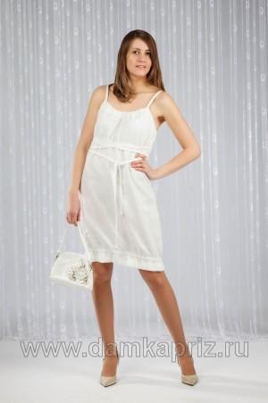 """Платье """"Ницца"""" - интернет магазин одежды из льна Дамский Каприз"""
