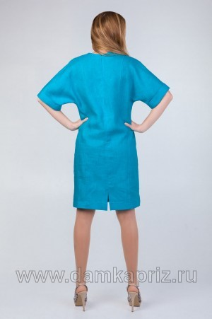 """Платье """"Ванесса"""" - интернет магазин одежды из льна Дамский Каприз"""