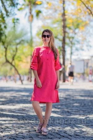 """Платье """"Анталия"""" - интернет магазин одежды из льна Дамский Каприз"""