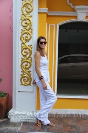 """Брюки """"Рузанна"""" - интернет магазин одежды из льна Дамский Каприз"""
