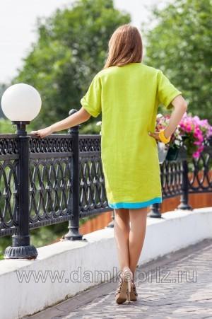 """Платье """"Мануэла"""" - интернет магазин одежды из льна Дамский Каприз"""