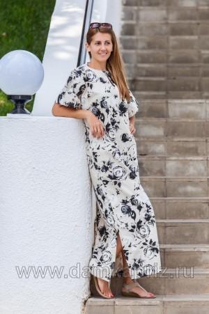 """Платье """"Росита"""" - интернет магазин одежды из льна Дамский Каприз"""