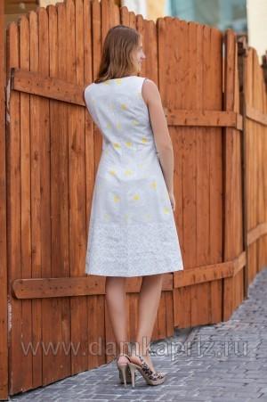"Сарафан ""Камилла"" - интернет магазин одежды из льна Дамский Каприз"