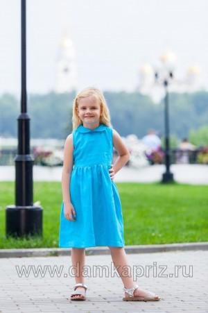 Платье для девочки - интернет магазин одежды из льна Дамский Каприз