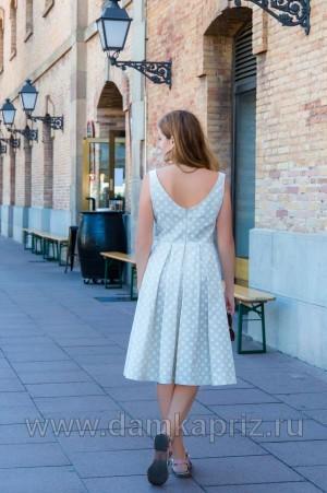 "Сарафан ""Барселона"" - интернет магазин одежды из льна Дамский Каприз"