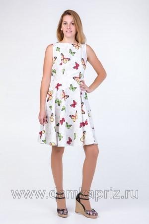 """Платье """"Крессида"""" - интернет магазин одежды из льна Дамский Каприз"""