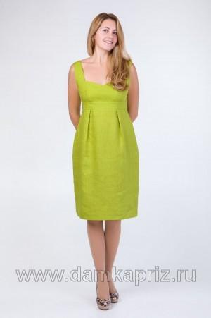 "Сарафан ""Тюльпан"" - интернет магазин одежды из льна Дамский Каприз"