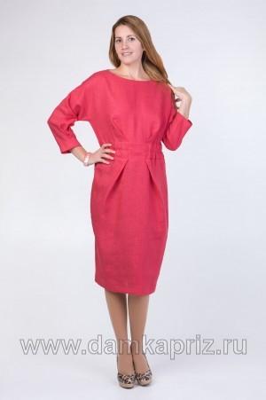 """Платье """"Нелли"""" - интернет магазин одежды из льна Дамский Каприз"""