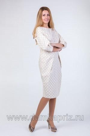 """Платье """"Нелли-2"""" - интернет магазин одежды из льна Дамский Каприз"""