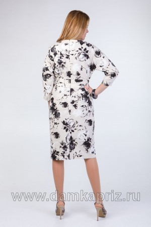 """Платье """"Нелли-3"""" - интернет магазин одежды из льна Дамский Каприз"""
