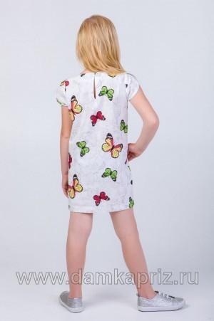 """Платье для девочки """"Ариэль"""" - интернет магазин одежды из льна Дамский Каприз"""