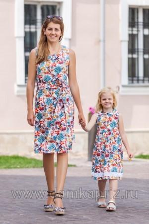 """Платье """"Колибри"""" - интернет магазин одежды из льна Дамский Каприз"""