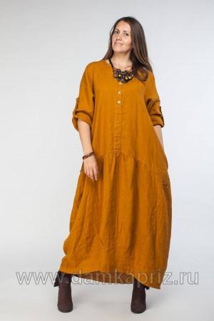 """Платье """"Марго"""" - интернет магазин одежды из льна Дамский Каприз"""