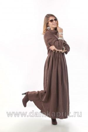 """Платье """"Джулия"""" - интернет магазин одежды из льна Дамский Каприз"""