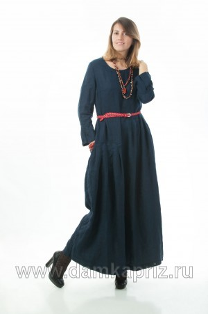 """Платье """"Летиция"""" - интернет магазин одежды из льна Дамский Каприз"""