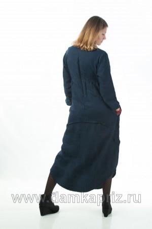 """Платье """"Ариэль"""" - интернет магазин одежды из льна Дамский Каприз"""