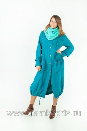 """Тренчкот """"Djudit"""" - интернет магазин одежды из льна Дамский Каприз"""