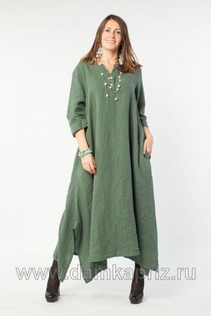 """Платье """"Адель"""" - интернет магазин одежды из льна Дамский Каприз"""