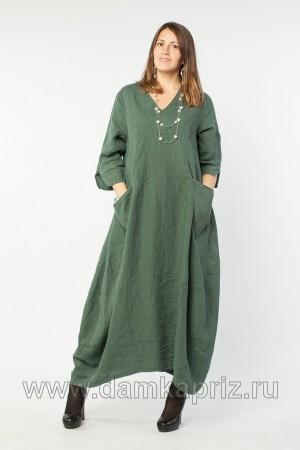 """Платье """"Матильда"""" - интернет магазин одежды из льна Дамский Каприз"""