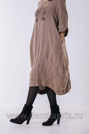 """Платье """"Элиан"""" - интернет магазин одежды из льна Дамский Каприз"""