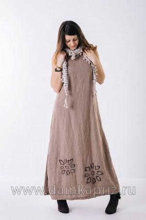 "Сарафан ""Диана"" - интернет магазин одежды из льна Дамский Каприз"