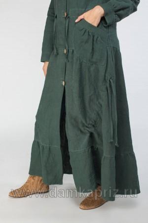 """Тренчкот """"Изабель"""" - интернет магазин одежды из льна Дамский Каприз"""
