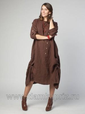 """Платье """"Лайма"""" - интернет магазин одежды из льна Дамский Каприз"""