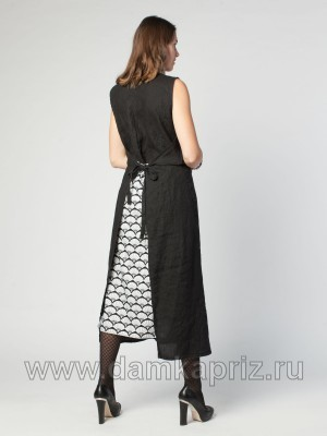 """Платье """"Мира"""" - интернет магазин одежды из льна Дамский Каприз"""
