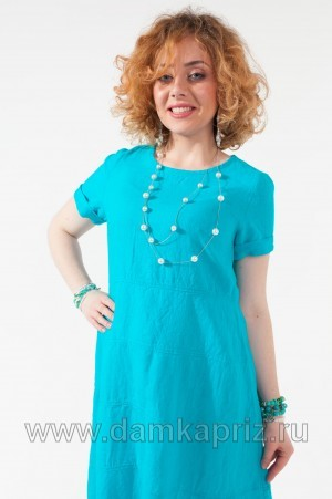 """Платье """"Алина"""" - интернет магазин одежды из льна Дамский Каприз"""