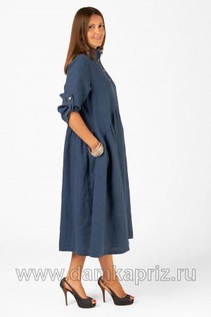 """Платье """"Николь"""" - интернет магазин одежды из льна Дамский Каприз"""