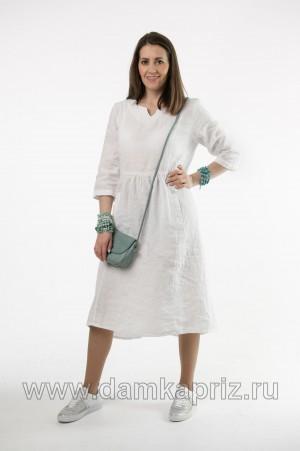 """Платье """"Симона"""" - интернет магазин одежды из льна Дамский Каприз"""