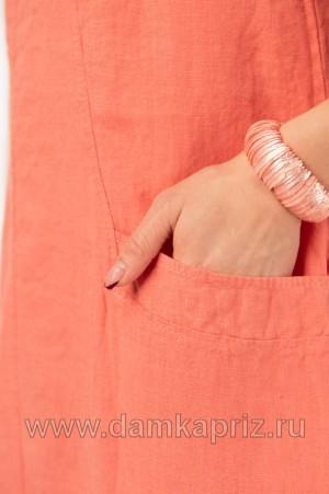 """Сарафан """"Найля"""" - интернет магазин одежды из льна Дамский Каприз"""