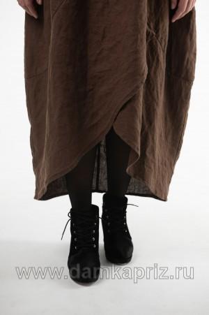 """Платье """"Миранда"""" - интернет магазин одежды из льна Дамский Каприз"""