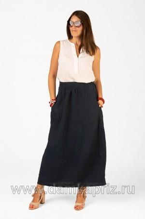 """Юбка """"Линда"""" - интернет магазин одежды из льна Дамский Каприз"""